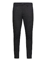 Pisa KD3920 Lines Pant - BLACK STRIPE