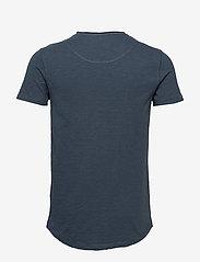 Gabba - Konrad Slub S/S Tee - basic t-shirts - navy - 1