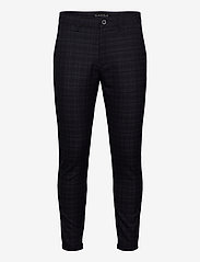 Gabba - Pisa Redue Pant - chinos - grey check - 0