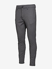 Gabba - Pisa Jersey Pant - chinos - lt grey mel - 2