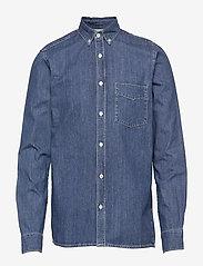 Gabba - Ranger Denim Shirt - basic skjorter - denim blue - 0