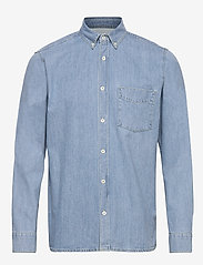 Gabba - Ranger Denim Shirt - podstawowe koszulki - lt. denim blue - 0