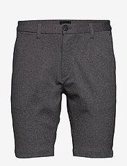 Gabba - Jason Chino Jersey Shorts - casual shorts - lt grey mel - 0