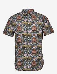 Gabba - Rocha SS Shirt - kortærmede skjorter - mixed colours - 0