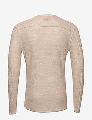 Gabba - Liam Linen Knit - basic strik - lt. sand - 1