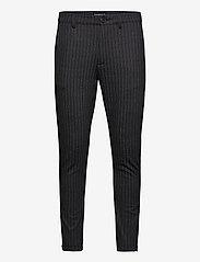 Gabba - Pisa KD3920 Lines Pant - casual - black stripe - 0