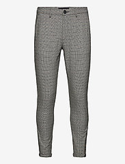 Gabba - Pisa Day Pant - casual - beige check - 0
