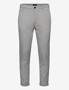 Rome Pants KD3950 - suitbukser - lt. grey