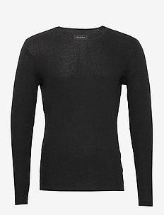 Newlyn Knit - basic strik - black