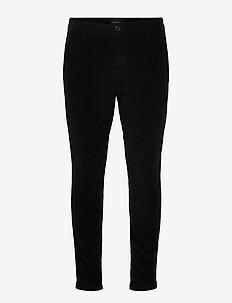 Pisa Cord Pants - chinos - black