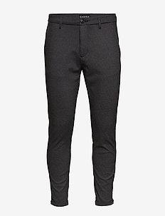 Pisa KD3920 Black Hound Pant - suitbukser - black