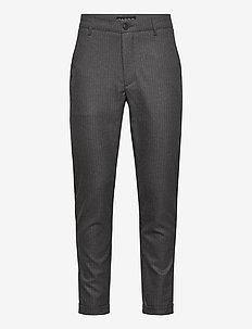 Rome Chark Pin Pant - suitbukser - grey pin