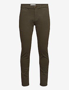 Paul K3280 Dale Chino - chinos - army