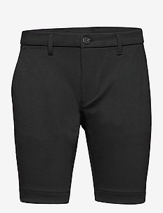 Jason Chino Jersey Shorts - casual shorts - black