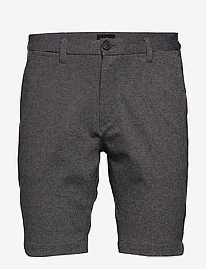 Jason Chino Jersey Shorts - casual shorts - lt grey mel