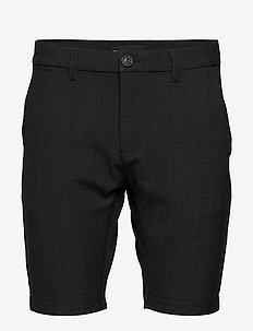 Jason Chino Cross Shorts - casual shorts - dk. grey