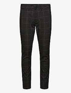 Paul Nili Check Pant - casual trousers - brown check