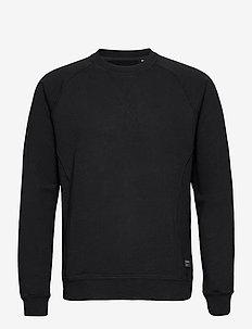 Nine Crew Neck Sweat - basic sweatshirts - black