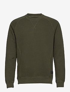 Nine Crew Neck Sweat - basic sweatshirts - rosin