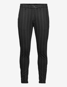 Pisa KD3920 Stripe Pant - formele broeken - black stripe