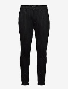 Pisa KD3920 Black Pin Pant - suitbukser - black pin