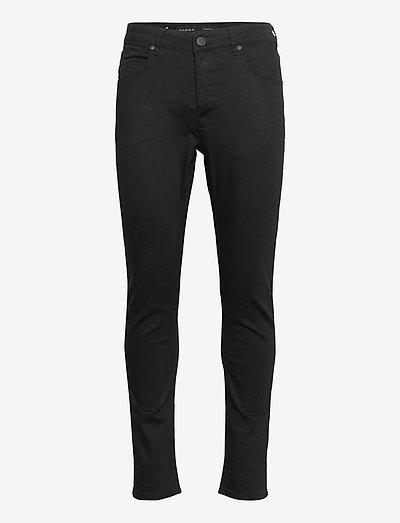 Rey K1535 Black Night Jeans - slim jeans - rs0775