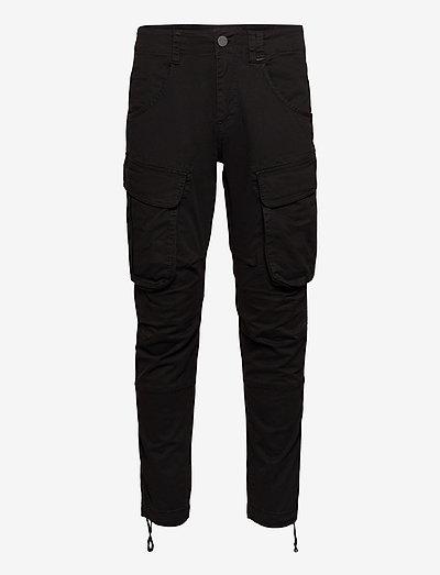 Rufo Cargo Pants - cargobukser - black