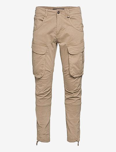 Rufo Cargo Pants - cargobukser - sand
