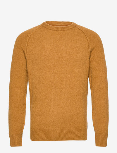 Artic Boucle Knit - basic strik - bronze brown