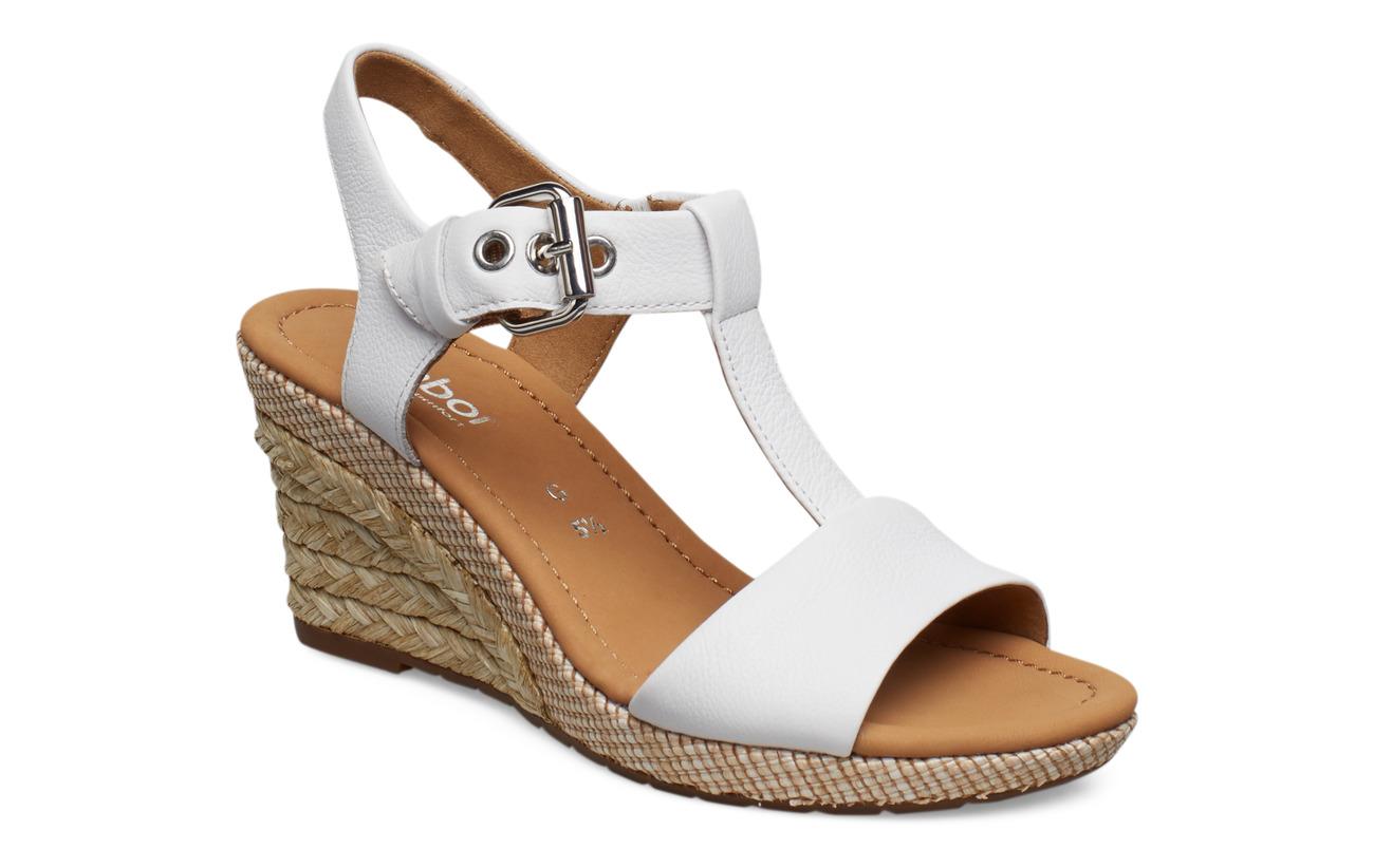 Gabor Sling Sandals - WHITE
