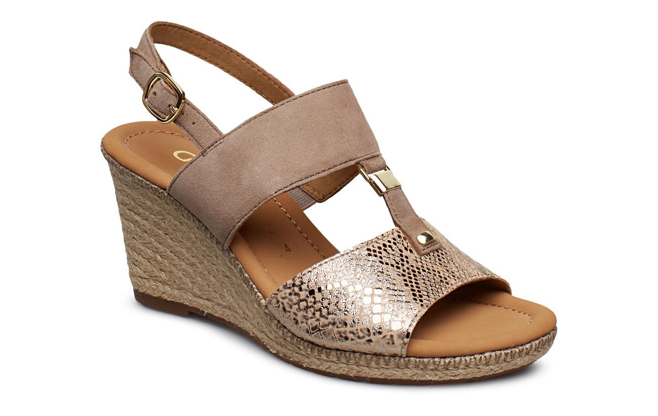 Gabor Sling Sandals - BEIGE