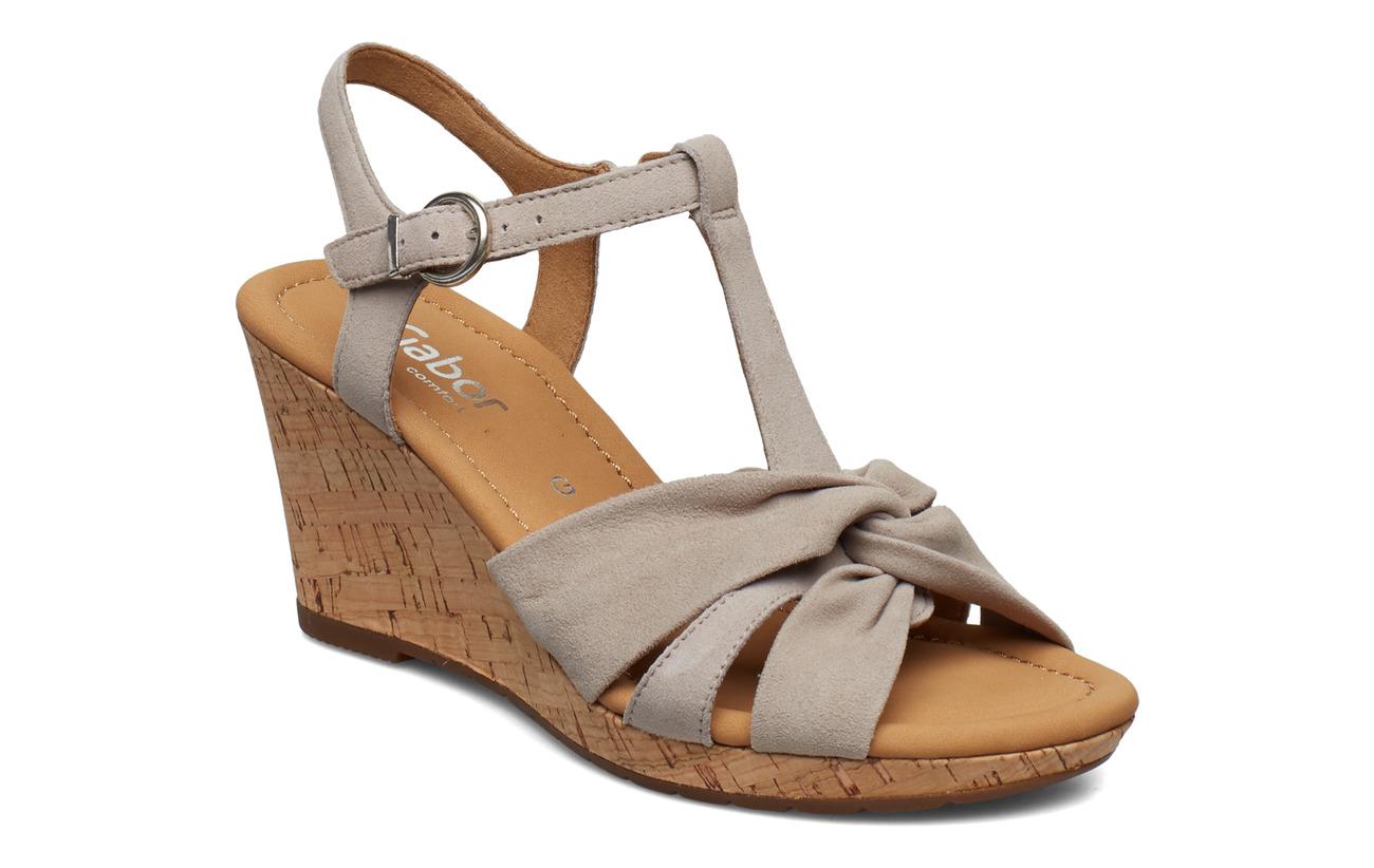 Gabor Sling Sandals - BROWN