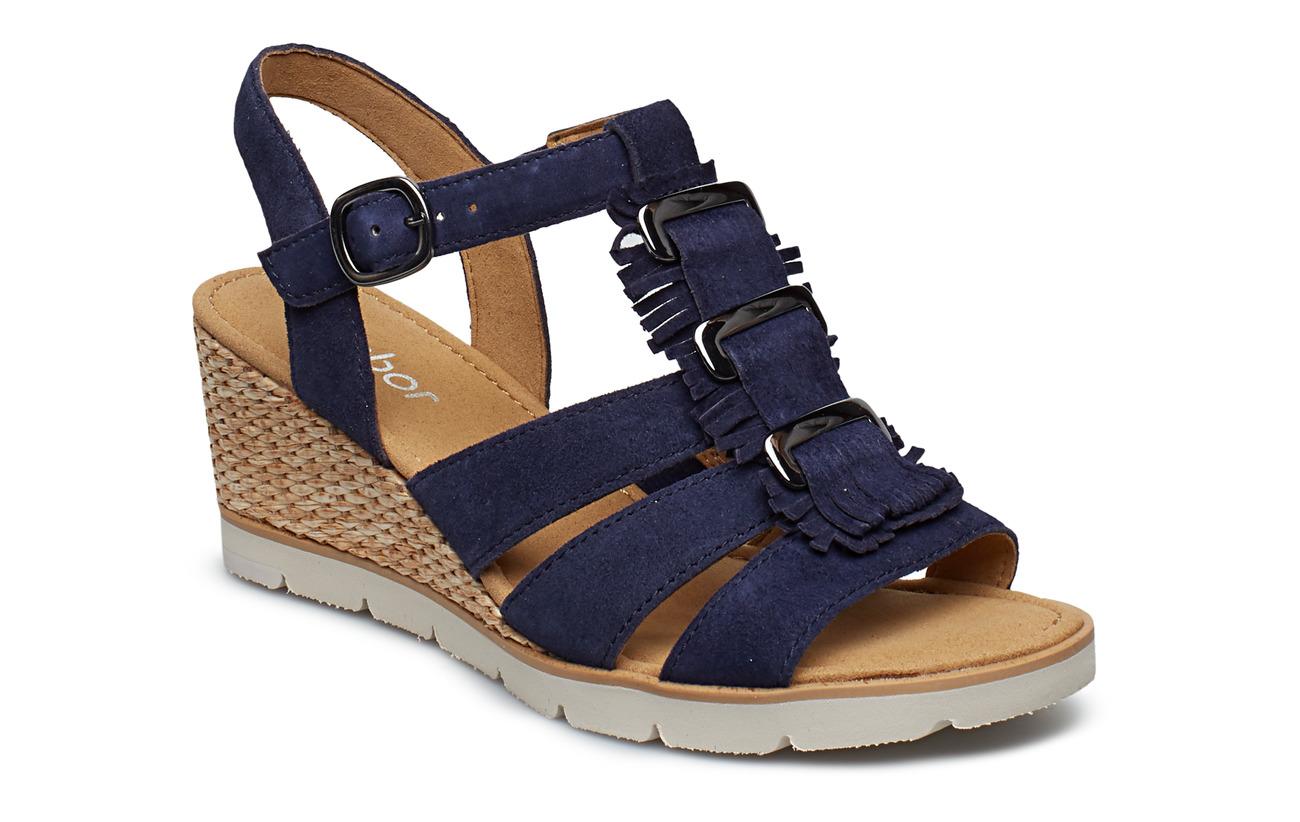 Gabor Sling Sandals - BLUE