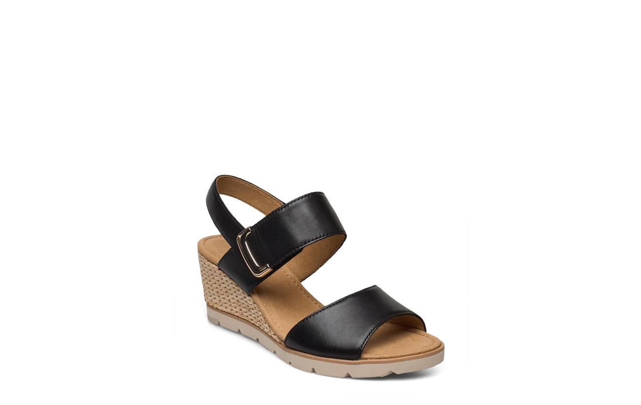 Gabor Sandals (Black), (74.25