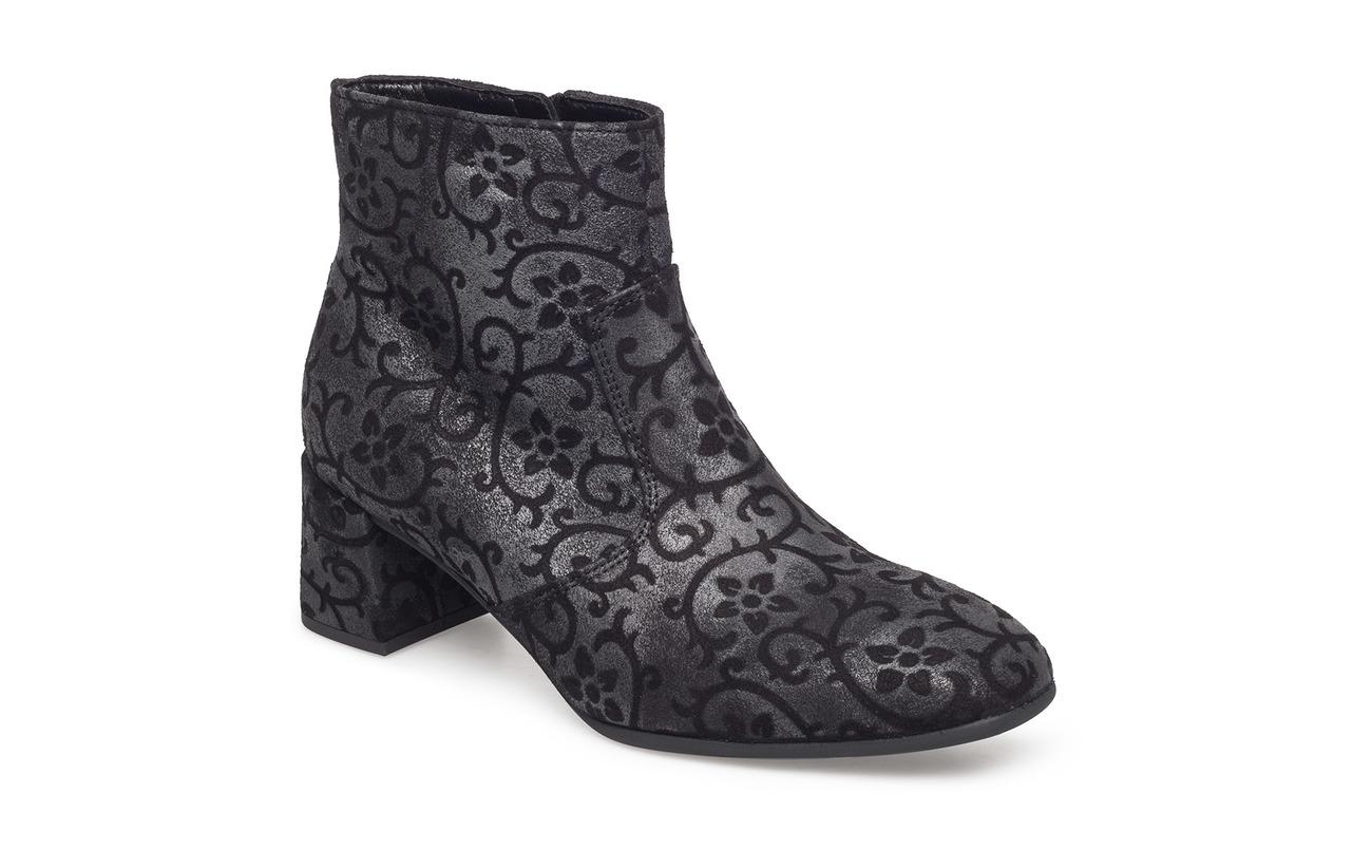 Caoutchouc Black Boots Supérieure Microfibre Doublure Extérieure Polyurethane Semelle Empeigne Cuir Gabor vB45q4