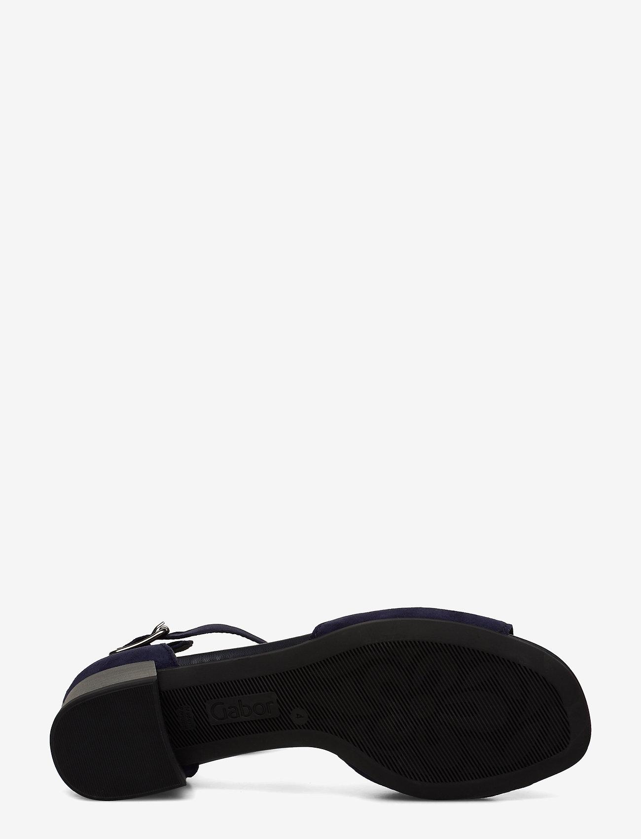 Gabor Sandals - Högklackade Skor Blue