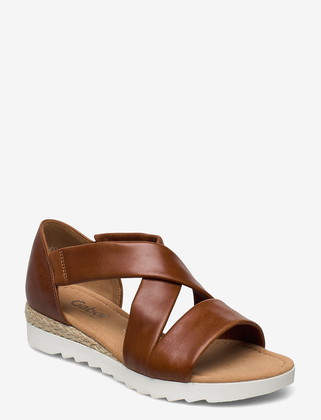 Gabor - sandals - høyhælte sandaler - brown