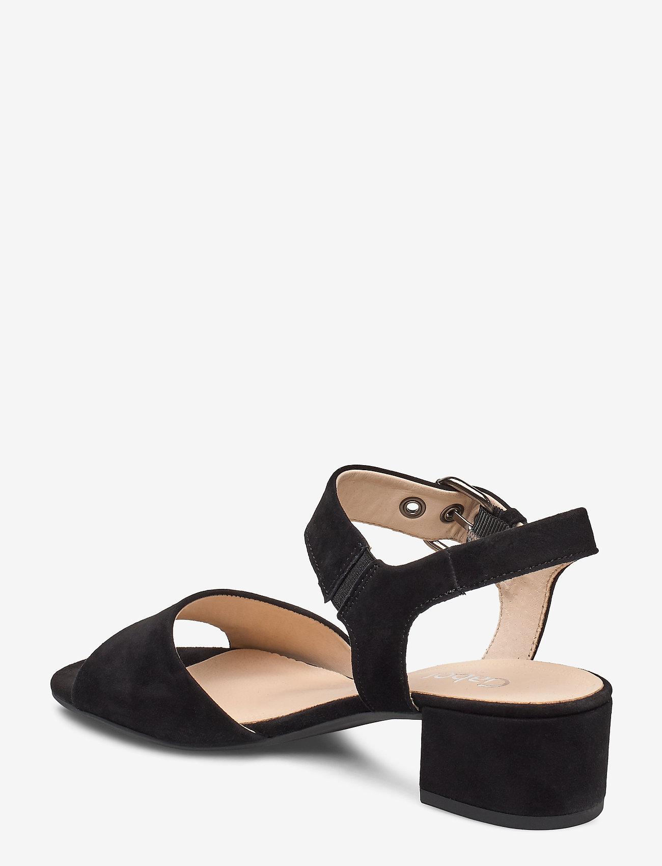 Gabor sandals - Absatzschuhe BLACK - Schuhe Billige