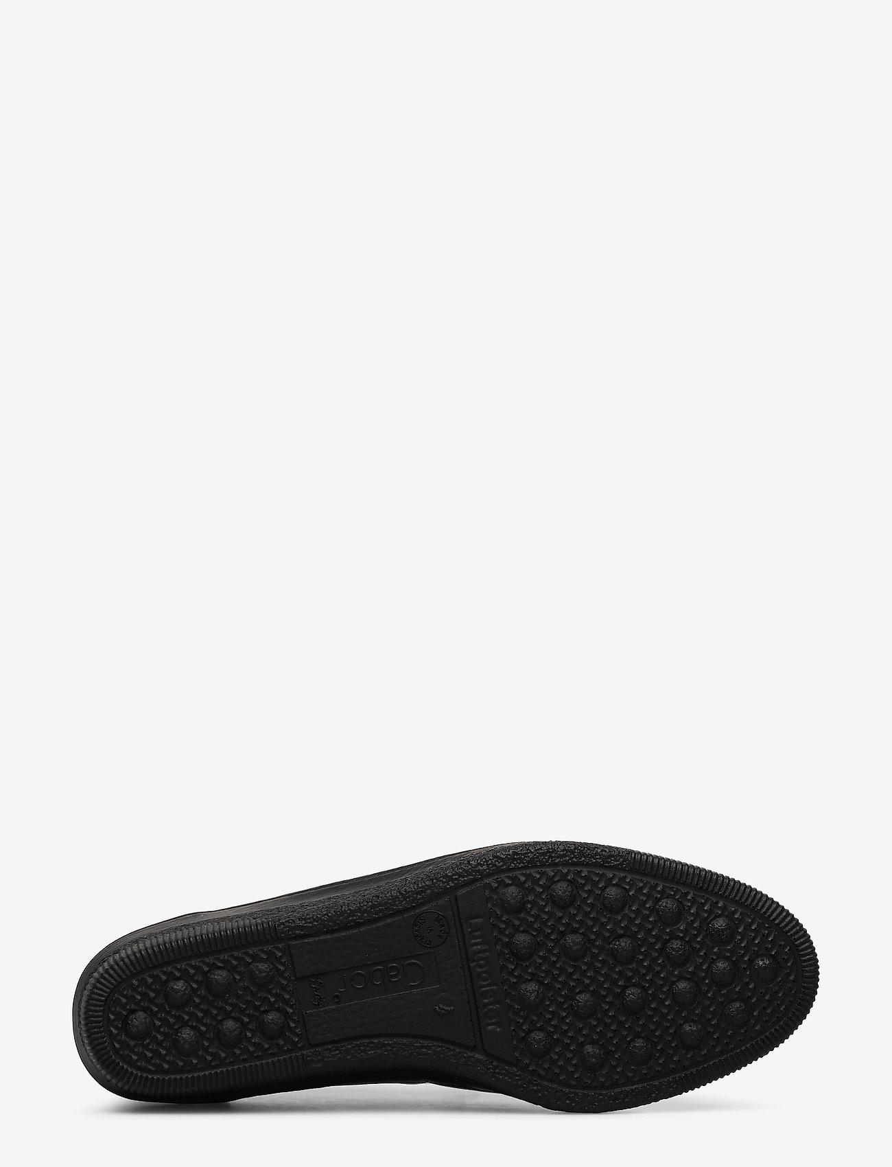 Gabor Comfort Shoe - Högklackade Skor Black