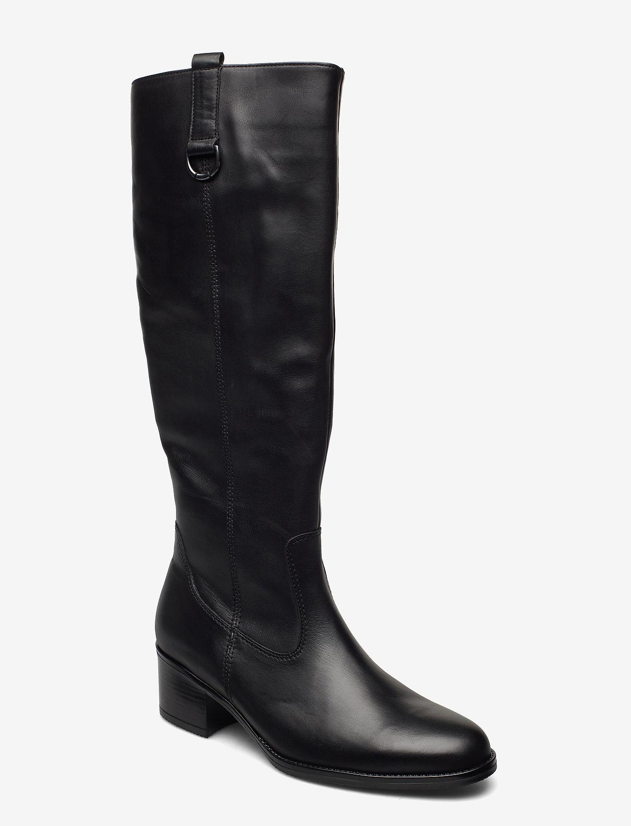 Gabor - Boot - höga stövlar - black - 0