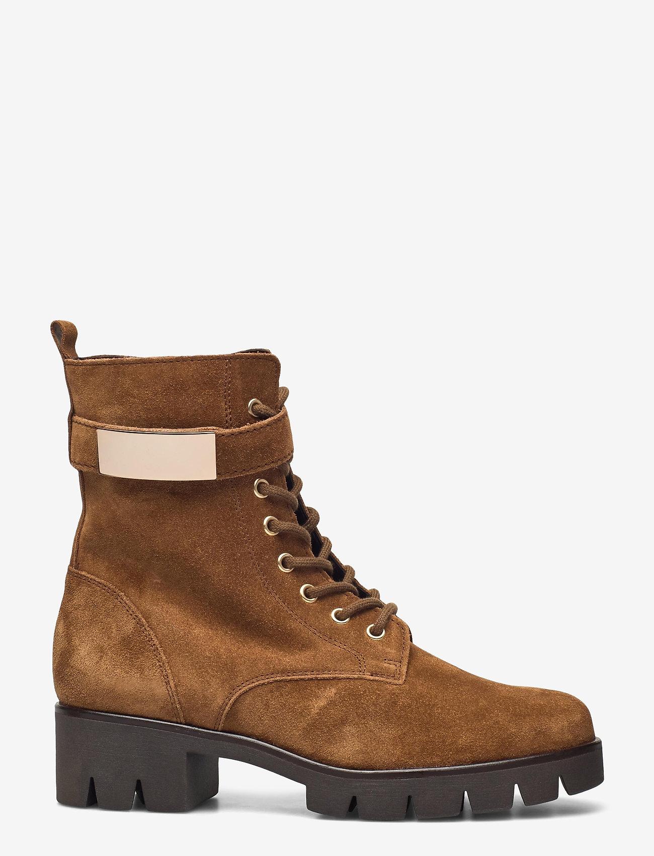 Gabor - Ankle boot - platte enkellaarsjes - beige - 1