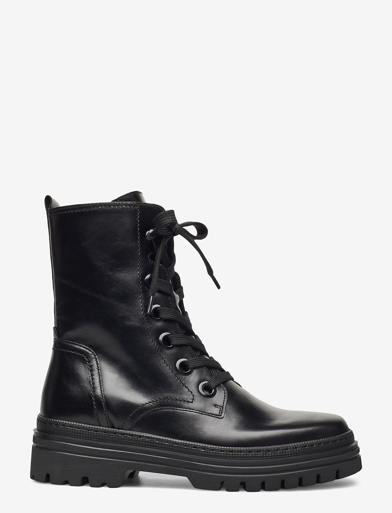 Gabor - Ankle boot - platte enkellaarsjes - black - 1