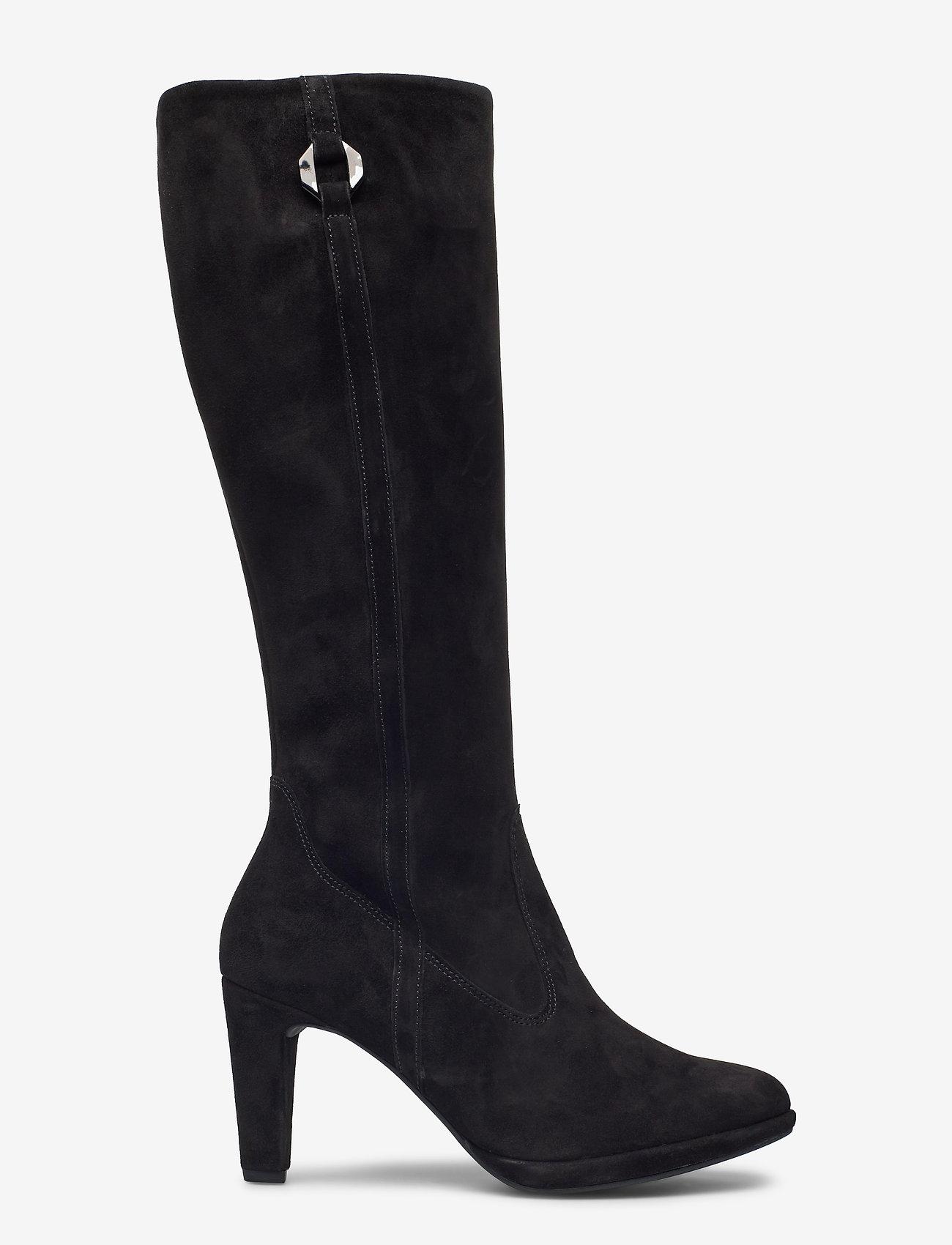 Gabor - Ankle boot - lange laarzen - black - 1