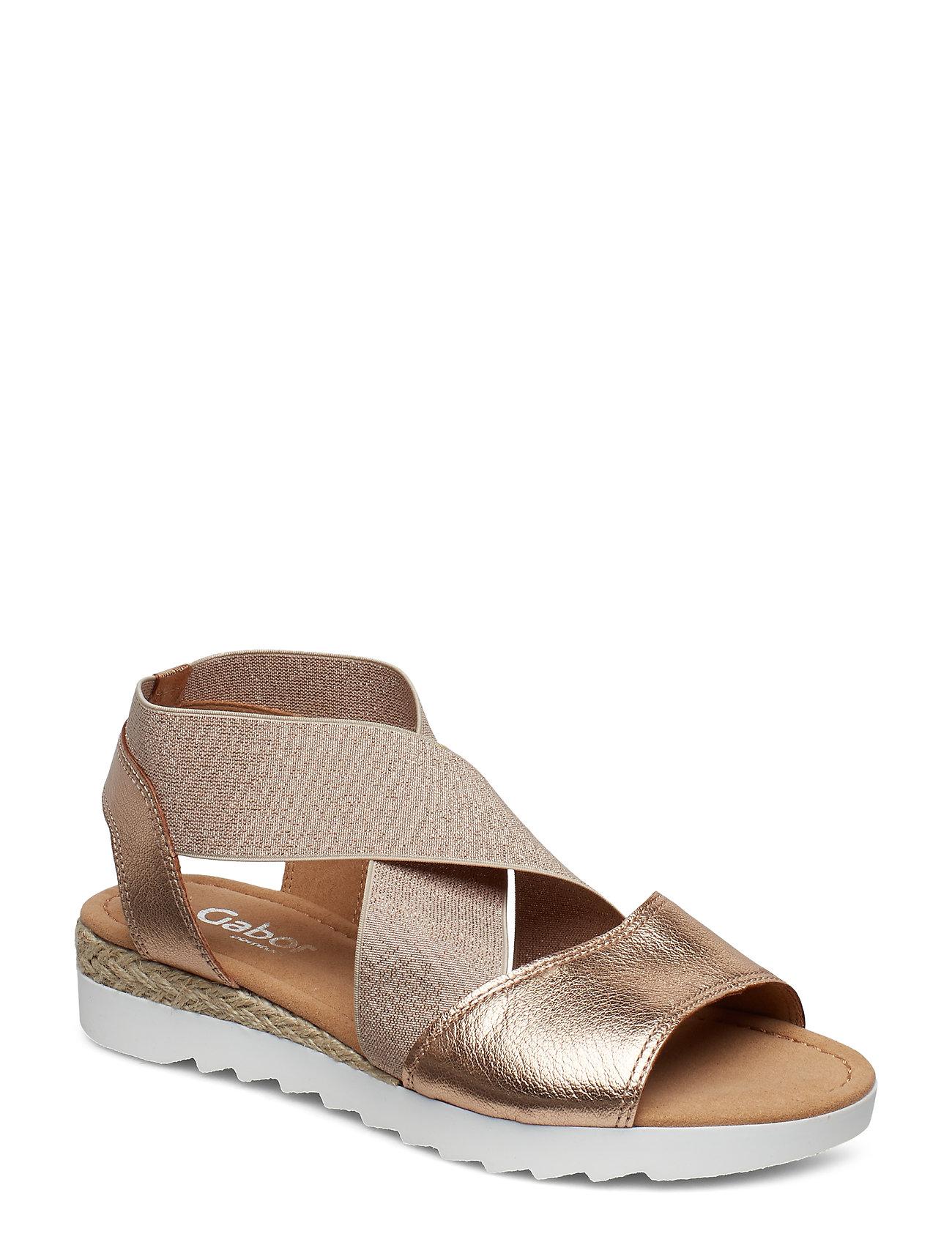 c5af053d668a Sling Sandals flade sandaler fra Gabor til dame i MULTI COLOURED ...