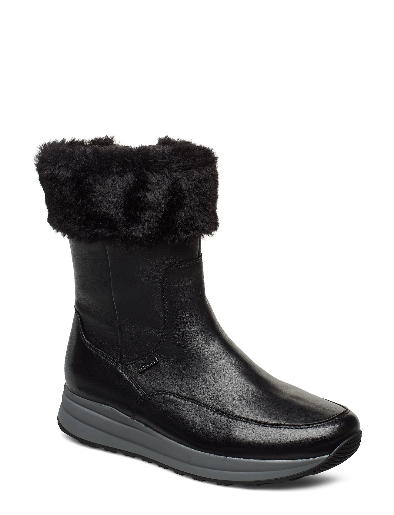 Image of Ankle Boot With Gabor-Tex Shoes Boots Ankle Boots Ankle Boot - Flat Sort Gabor (3406243657)