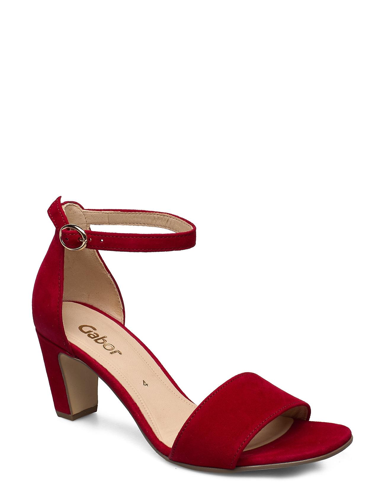 Image of Sandals Sandal Med Hæl Rød Gabor (3359210341)