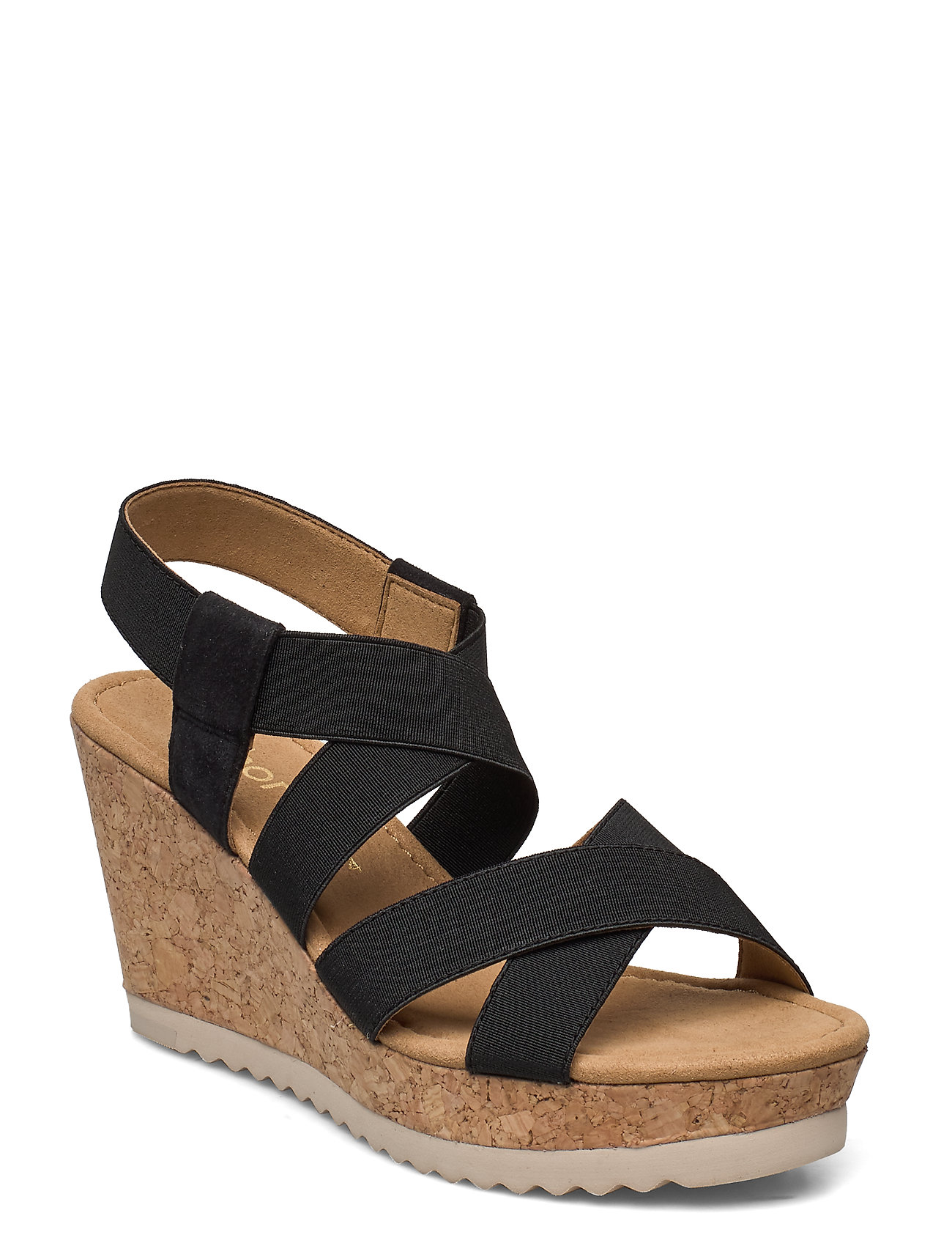 Image of Sandals Sandal Med Hæl Sort Gabor (3406282503)