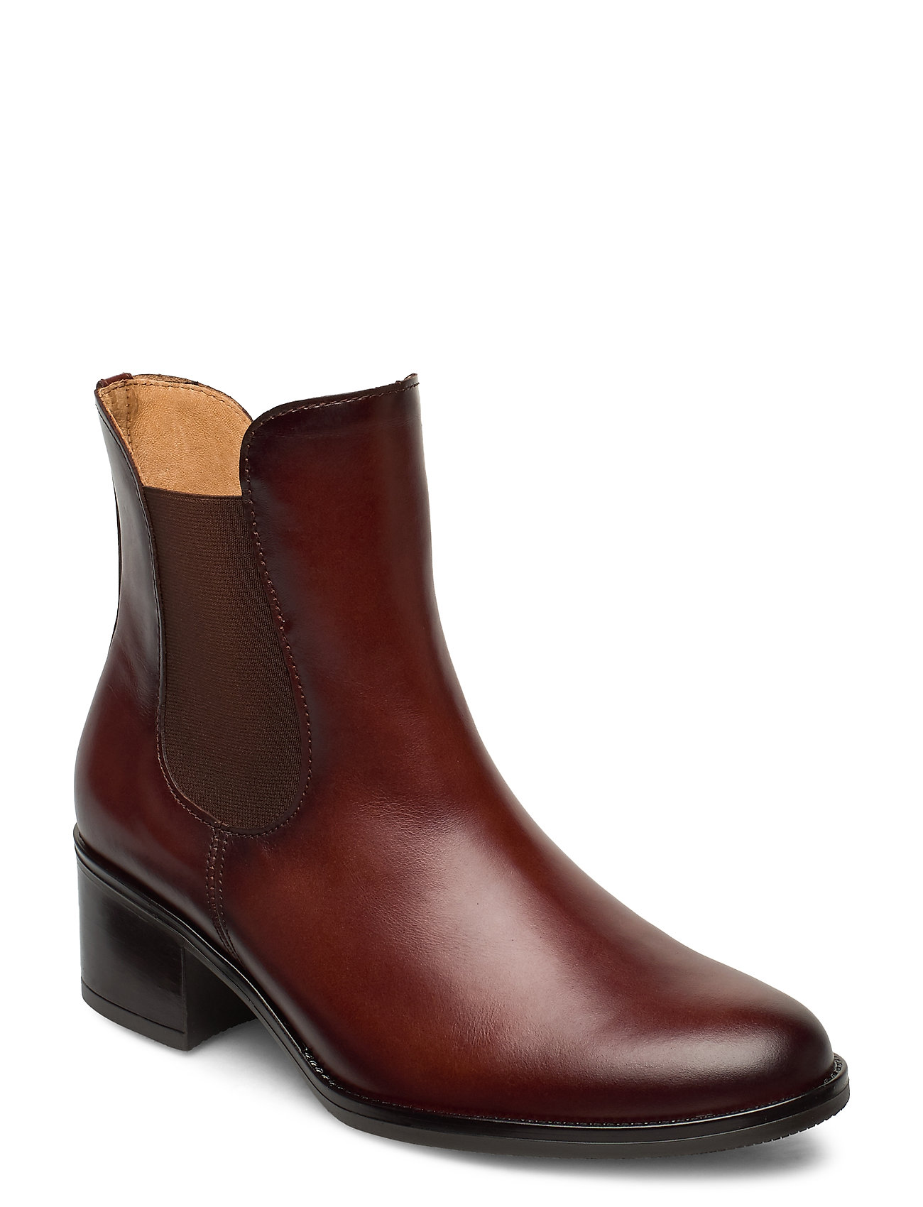 Image of Ankle Boot Shoes Boots Ankle Boots Ankle Boot - Heel Brun Gabor (3435437155)