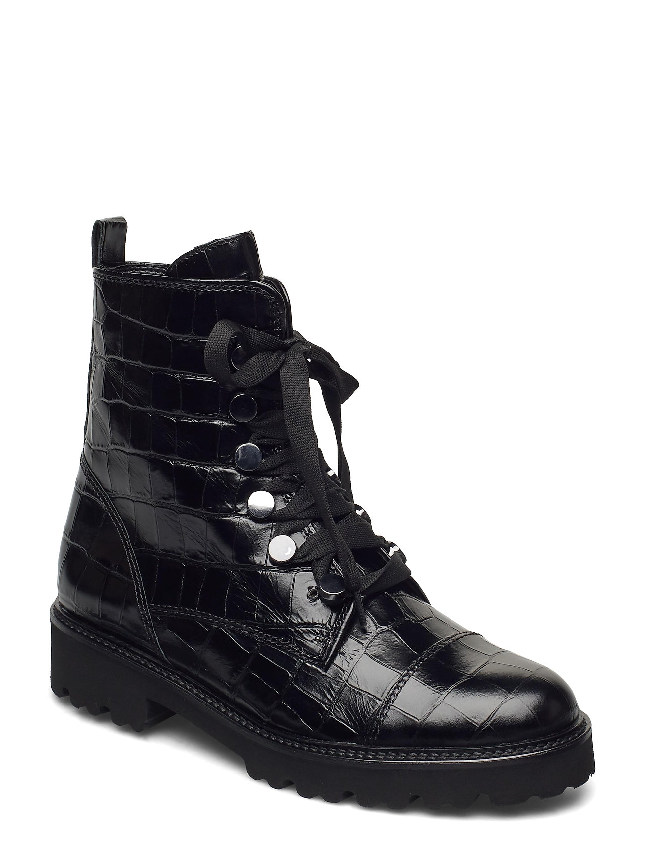 Image of Ankle Boot Shoes Boots Ankle Boots Ankle Boot - Flat Sort Gabor (3462700081)