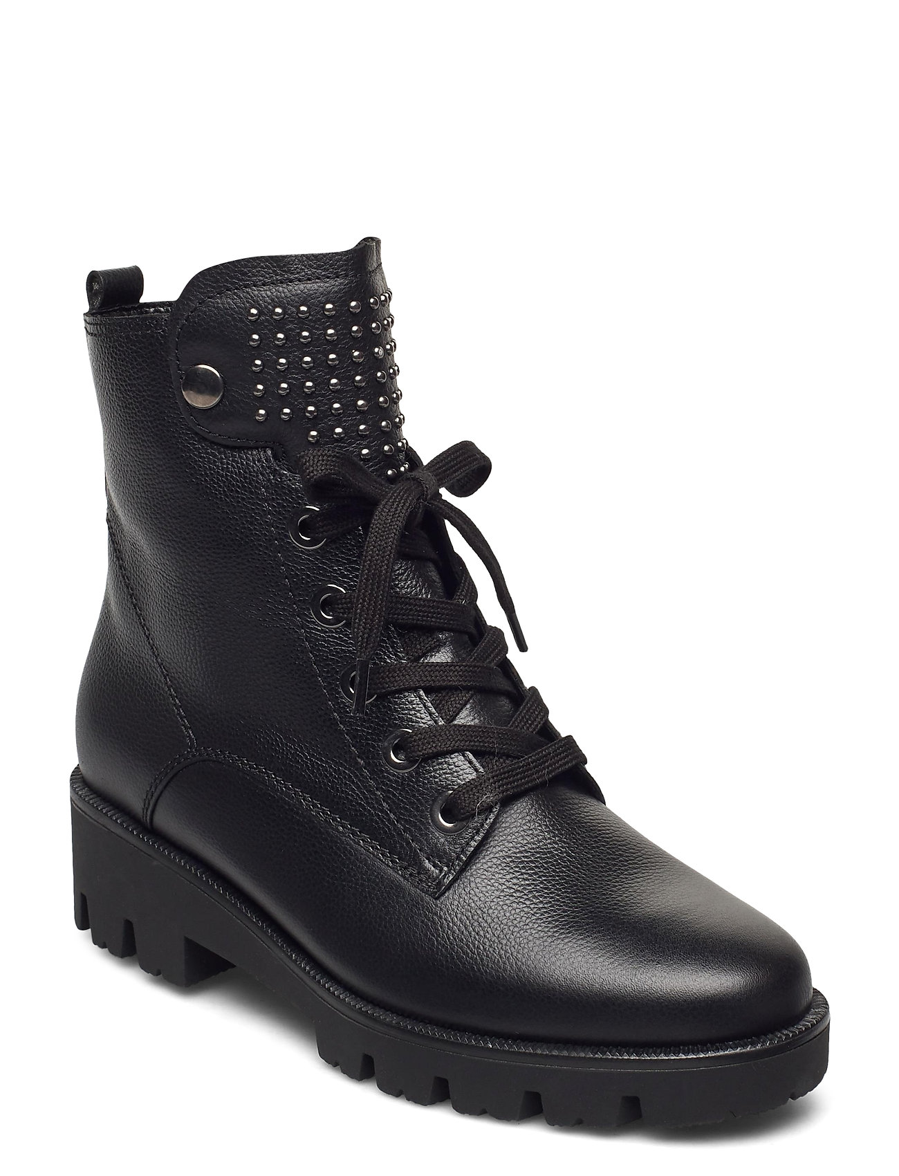 Image of Ankle Boot Shoes Boots Ankle Boots Ankle Boot - Flat Sort Gabor (3463420823)